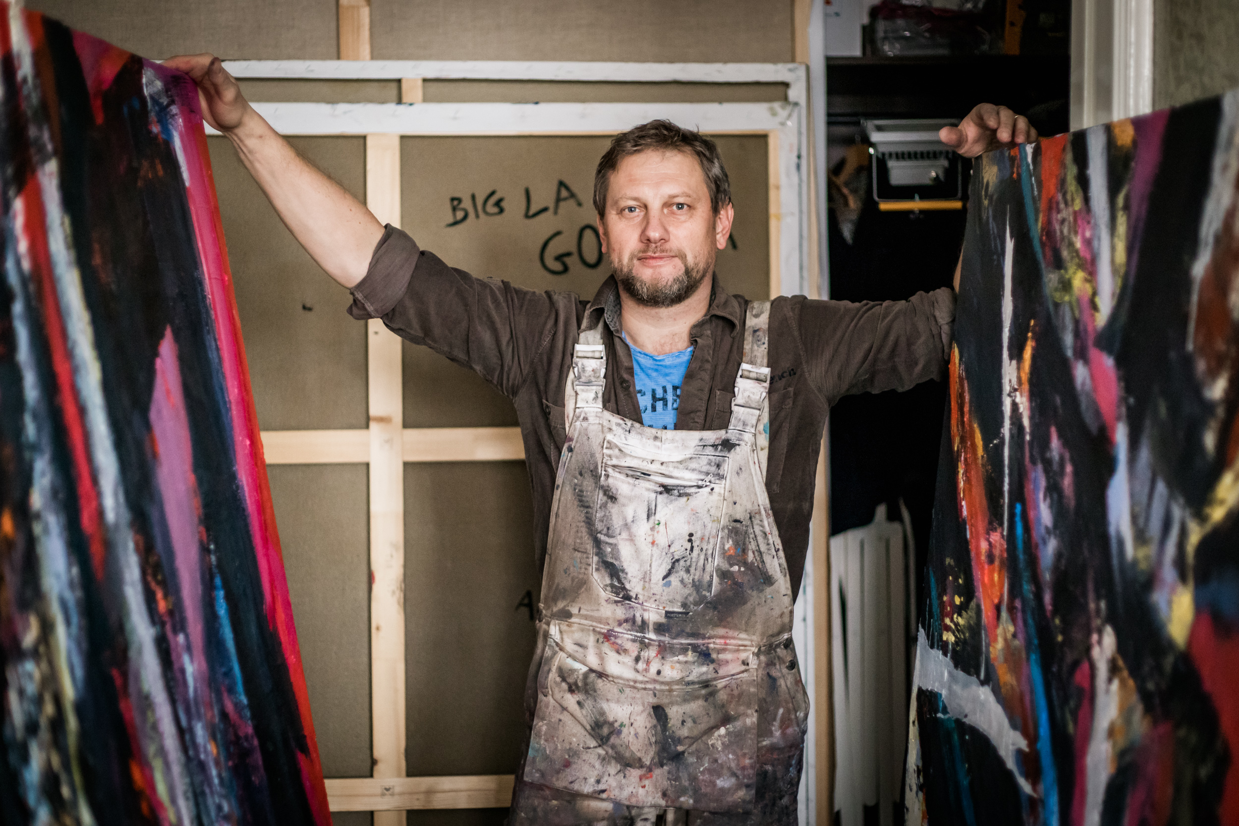 Andrzej Lichota in his studio in Cracow, March 2019. Photo by Bartosz Cygan / for Rzeczy Piękne