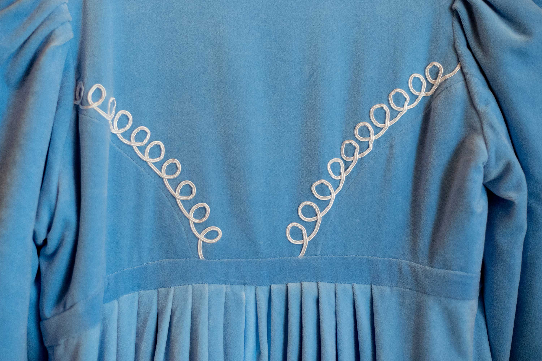 Aksamit - ukochana tkanina Doroty.