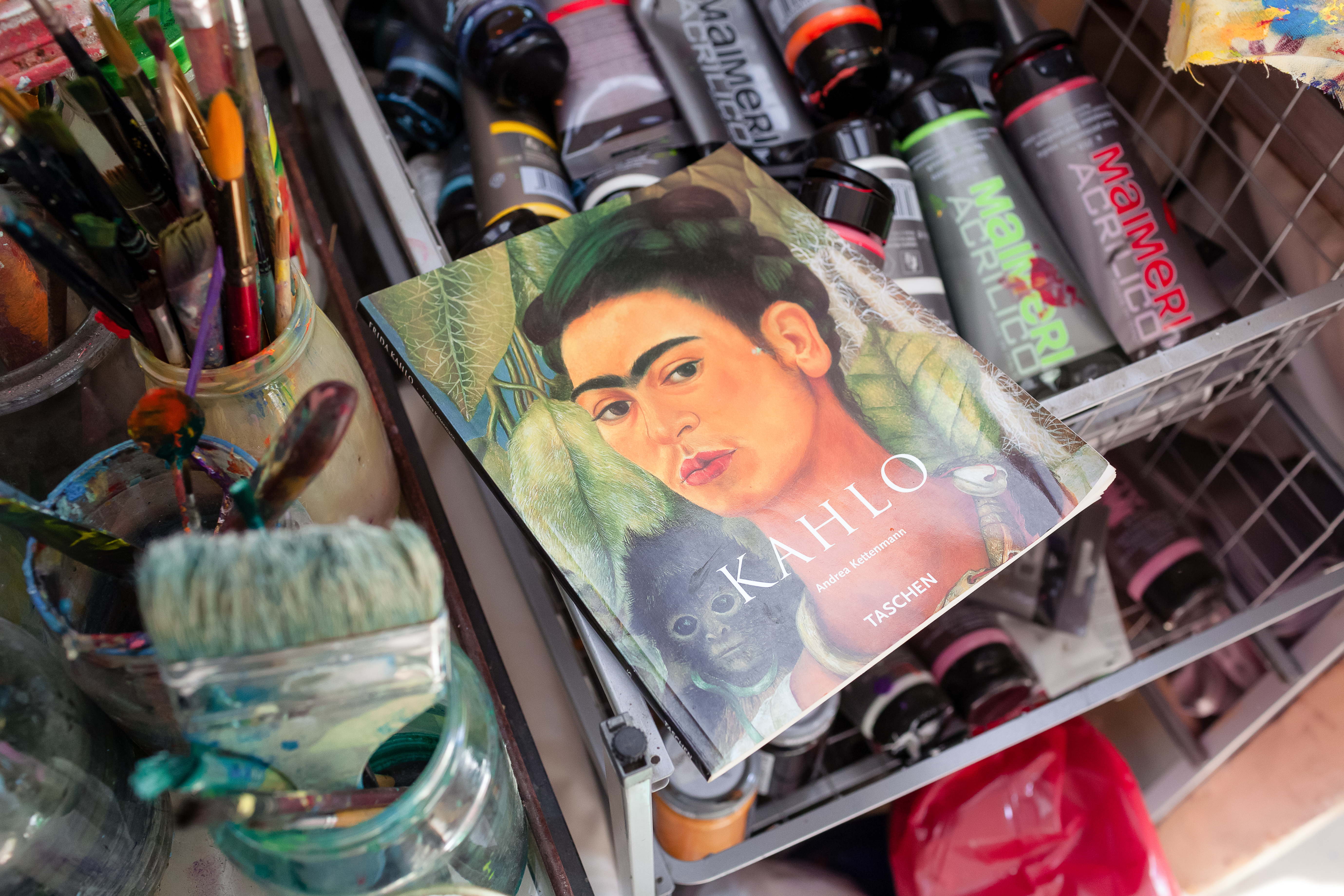 Frida Kahlo is one of Ania's favourite artists.