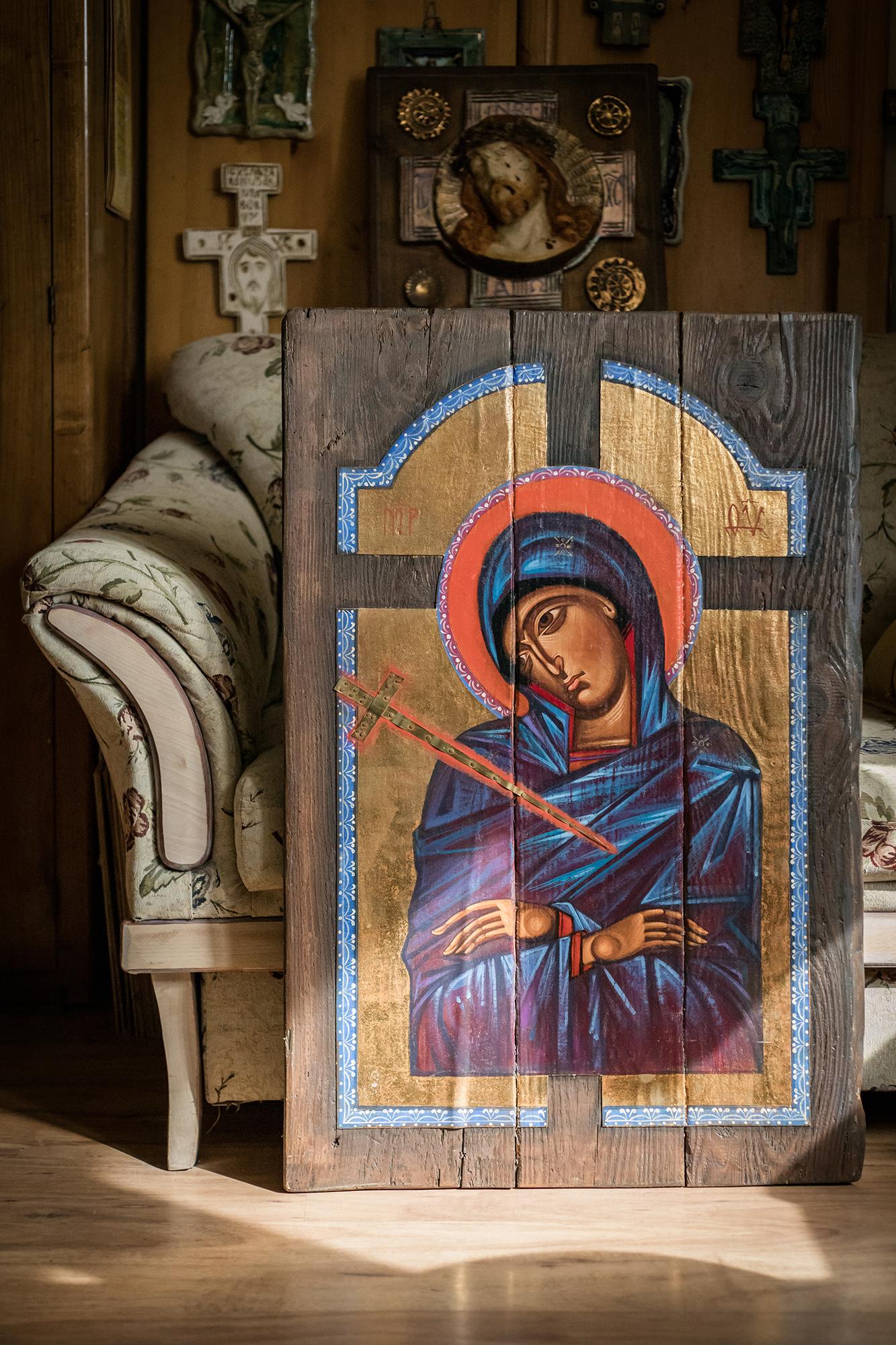 Matka Boża Bolejąca.