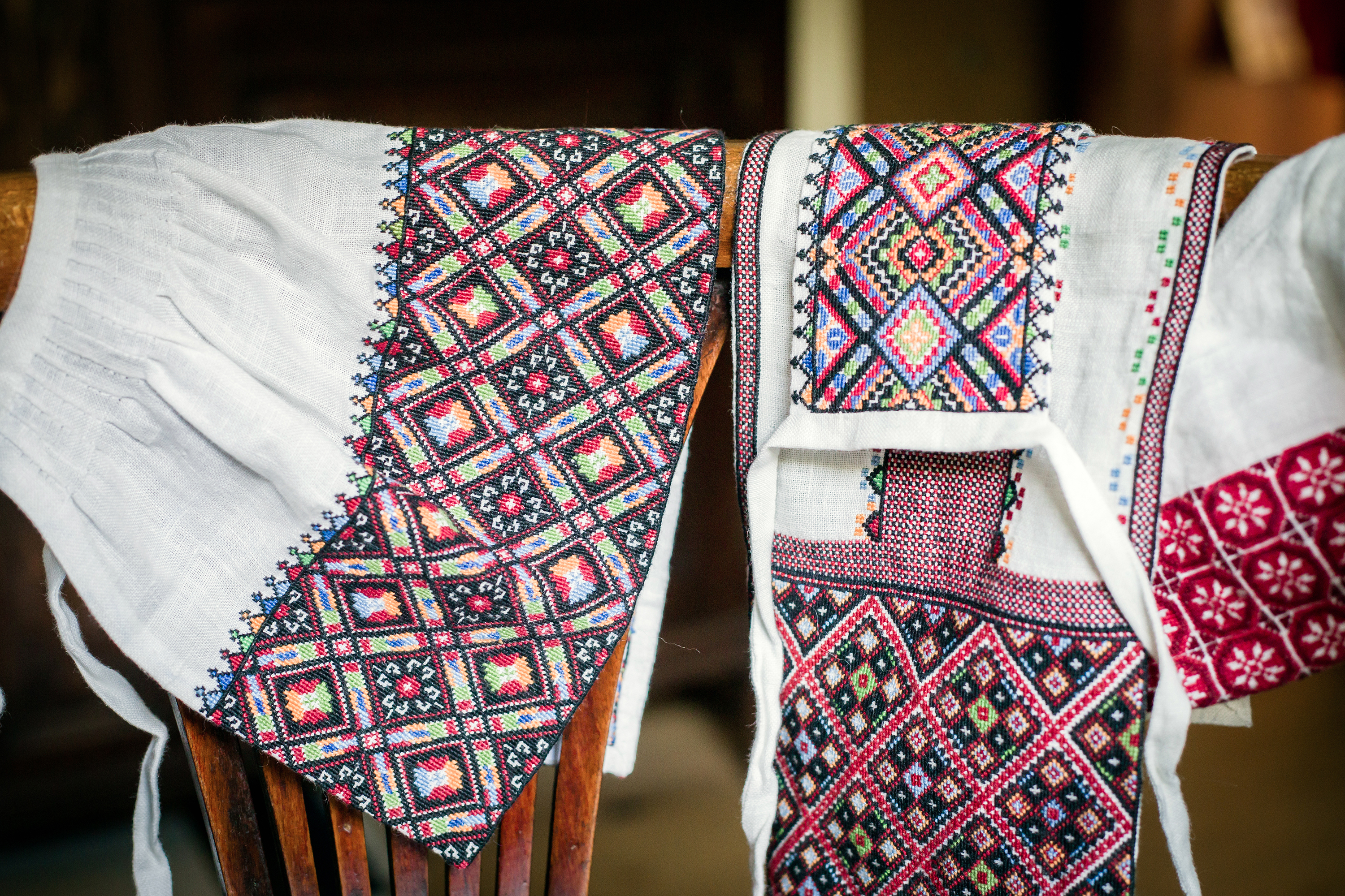 The Huculi embroidery.
