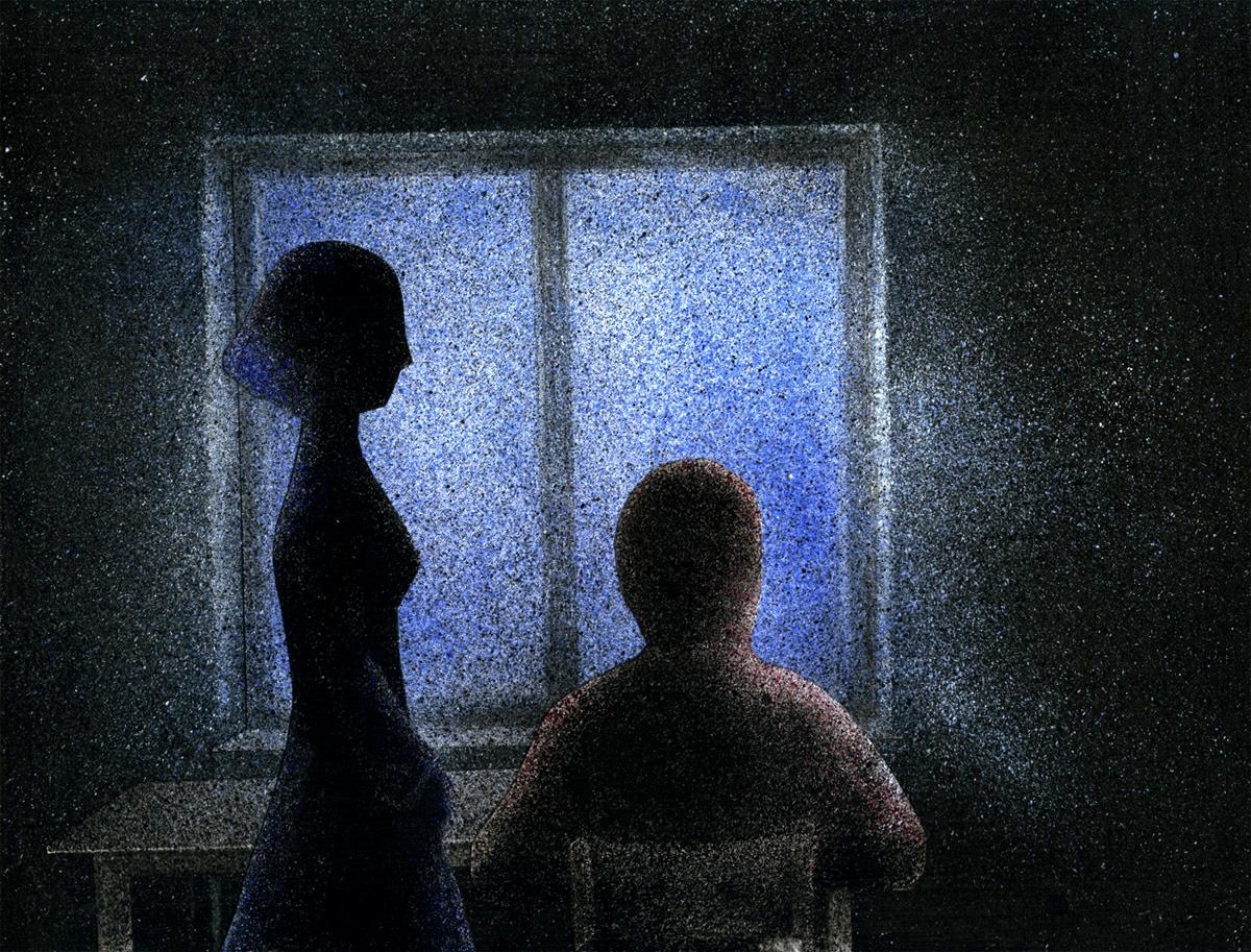 """Kadr z filmu """"Pomiędzy nami"""" w reż. Wioli Sowy."""